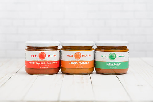 Assorted Simmer Sauces (pack of 6) Pack B