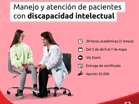 Curso: manejo y atención integral a pacientes con discapacidad intelectual