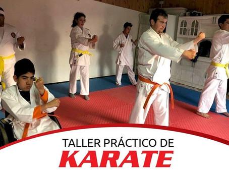 Karate Inclusivo: primer taller presencial