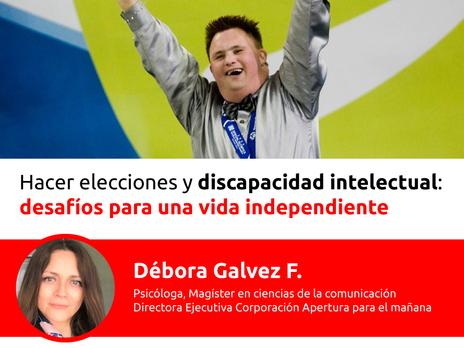 Charla en vivo: independencia de las personas con discapacidad intelectual