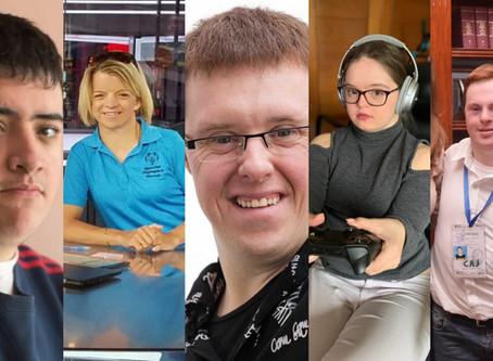 Cinco personas con Discapacidad Intelectual que han trabajado en periodismo