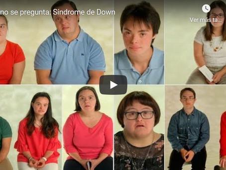 ¿Qué le preguntarías a alguien con Síndrome de Down?