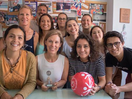 Presidenta de Olimpiadas Especiales Chile: una de las 100 Mujeres Líderes del país