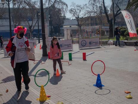 Olimpiadas Especiales genera instancia deportiva y de inclusión en Melipilla