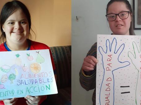 Jóvenes con discapacidad intelectual: en acción por los desafíos globales