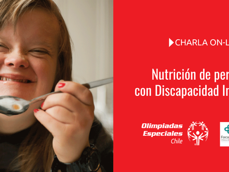 Charla on-line: Nutrición de personas con Discapacidad Intelectual