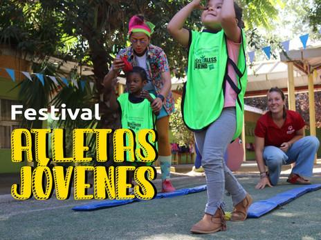 Festival de Atletas Jóvenes: el juego como medio para mantenernos activos.