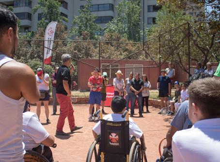 Tenistas con diferentes tipos de discapacidad, paralímpicos y de talla baja: en la misma cancha
