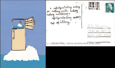A refridgeratorberg onberg an iceberg with anberg iceberg withberg a refridgeratorberg onberg top of itberg.