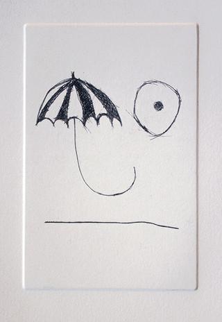 Line, nipple, umbrella
