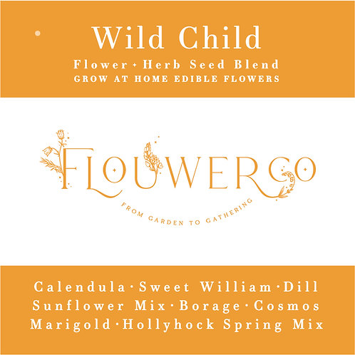 Wholesale - Wild Child - Grow at Home Seed Bag - Case of 8 Seed Bags