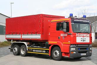Abrollbehälter Transport