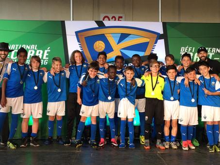 Les U13 M AA remportent la médaille d'argent