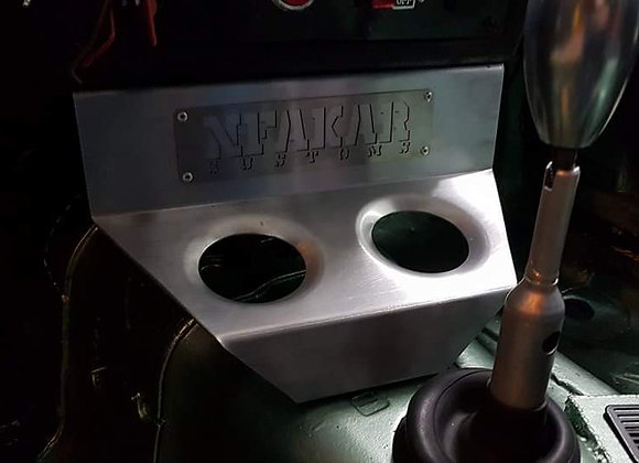 Bmw E30 Dimple Die Center Console Cup Holder