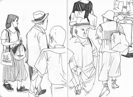Japan 2019 sketches