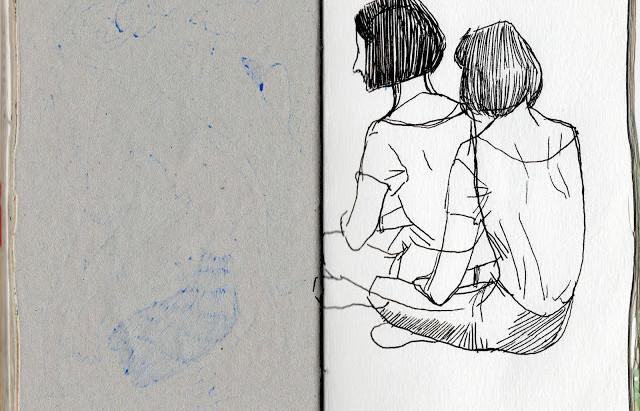 draw; 2015 sketchbook 01