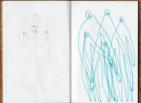 draw; 2015 sketchbook 03