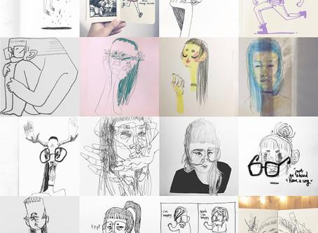 draw; a @somethinganniething annual summary