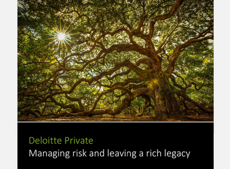 Managing Risk And Leaving A Rich Legacy