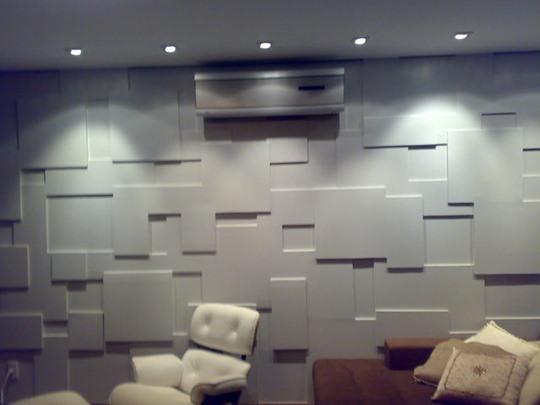 06 - Mosaico 3D em Dry Wall