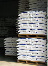 Zeolite - Organic Fertilizer packed on 50 kg bags
