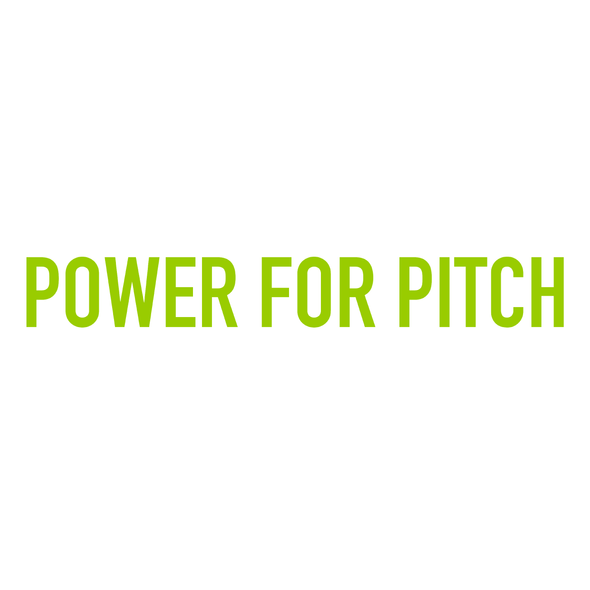 POWER FOR PITCH