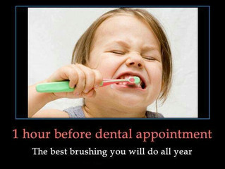 1 hour before your appointment...
