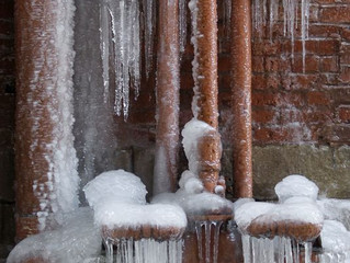 Don't let your pipes freeze!