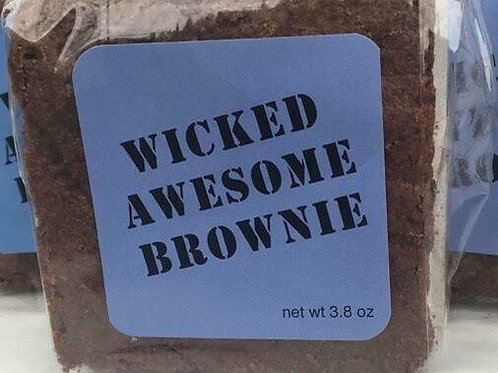 """(24) 3"""" Brownie LOCAL DELIVERY ONLY"""