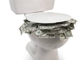 Stop Flushing Dollars Down the Toilet!