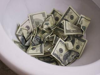 Don't throw away money