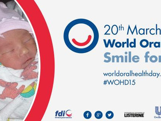 World Oral Healthy Day. Smile for life!