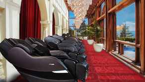 Why massage chairs make sense in India even though labor costs are low?