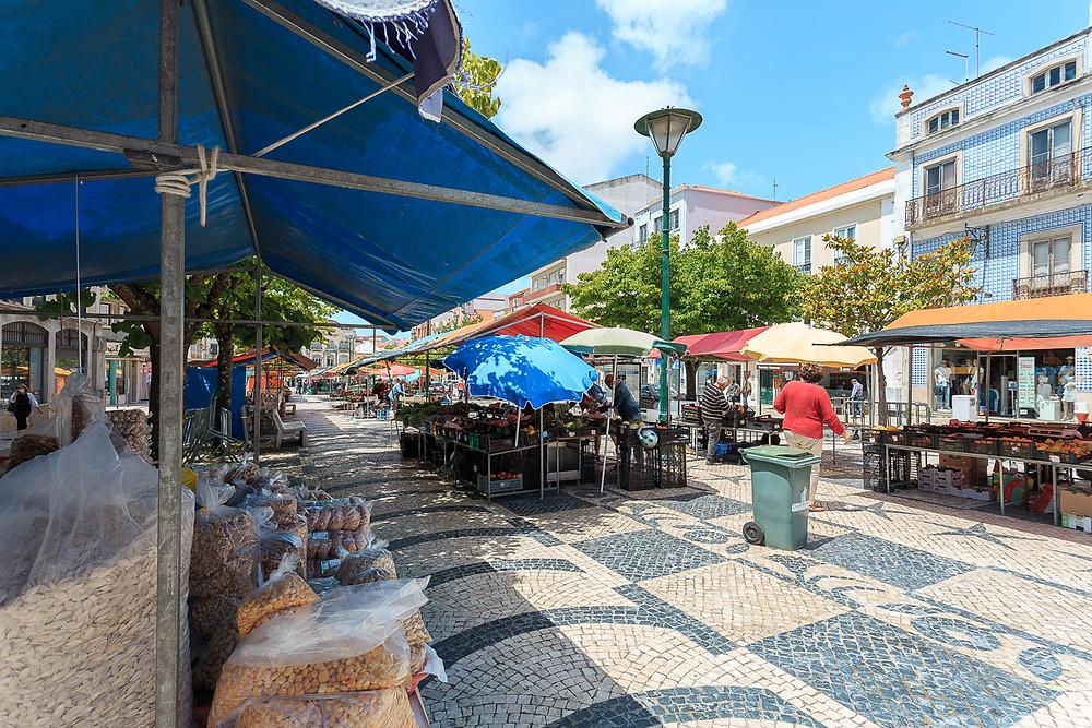 Caldas da Rainha daily farmers market