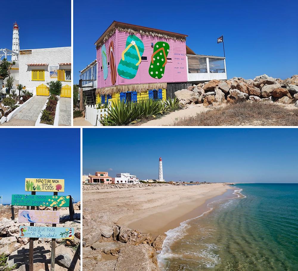 Ilha do Farol beach Algarve Portugal