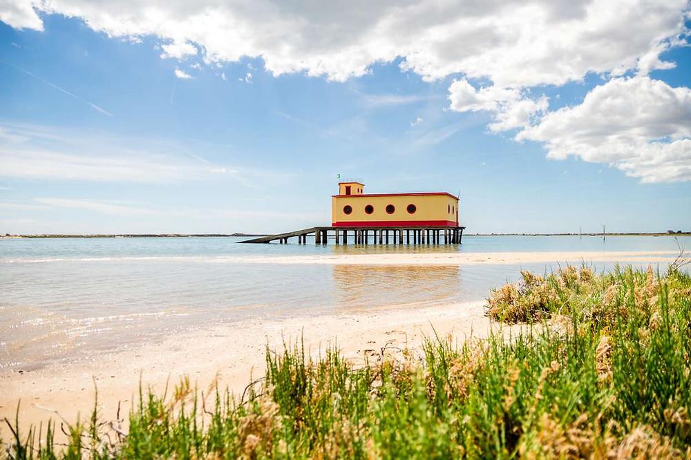Fuseta beach Algarve Portugal