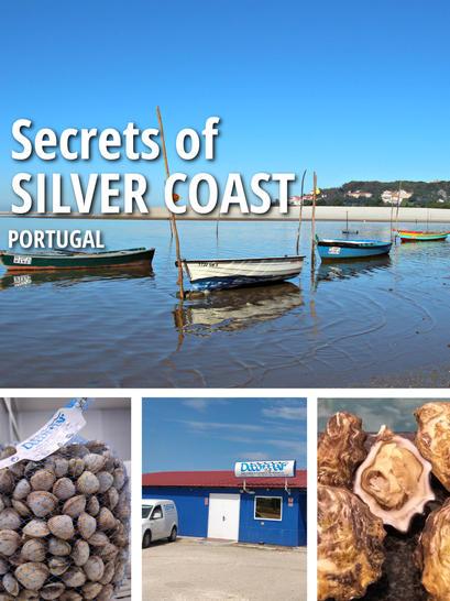 38 - Vendeurs de fruits de mer à Obidos Lagoon/Foz do Arelho