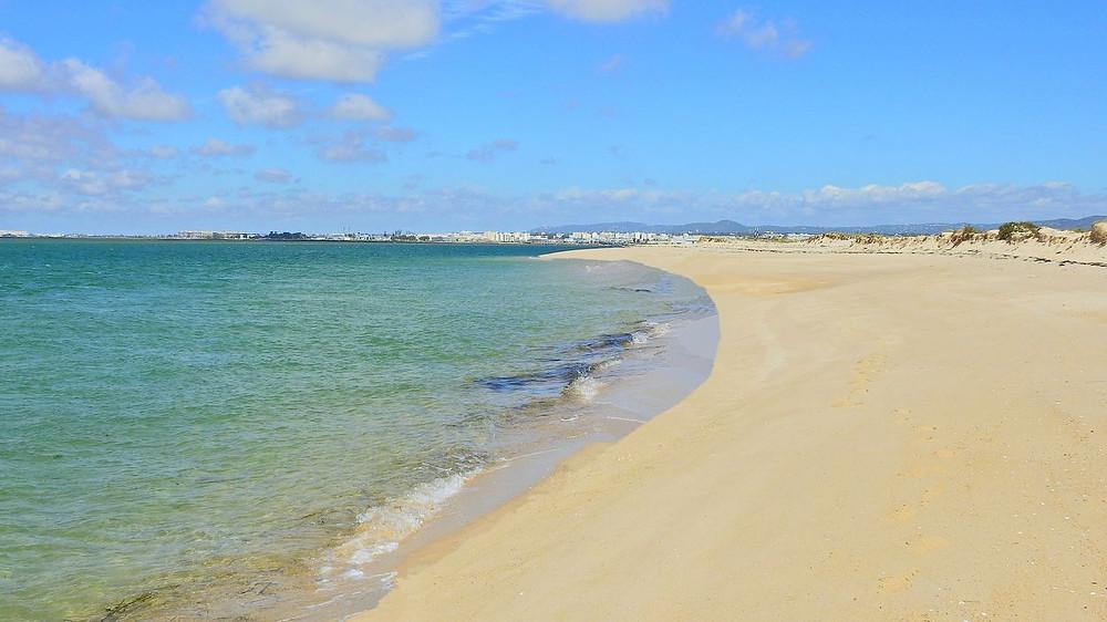 Ilha Armona beach Algarve Portugal
