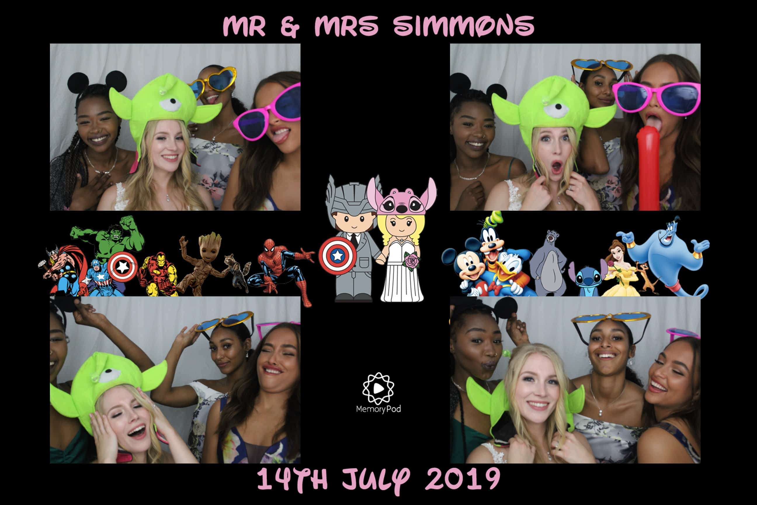 Mr & Mrs Simmons Wedding