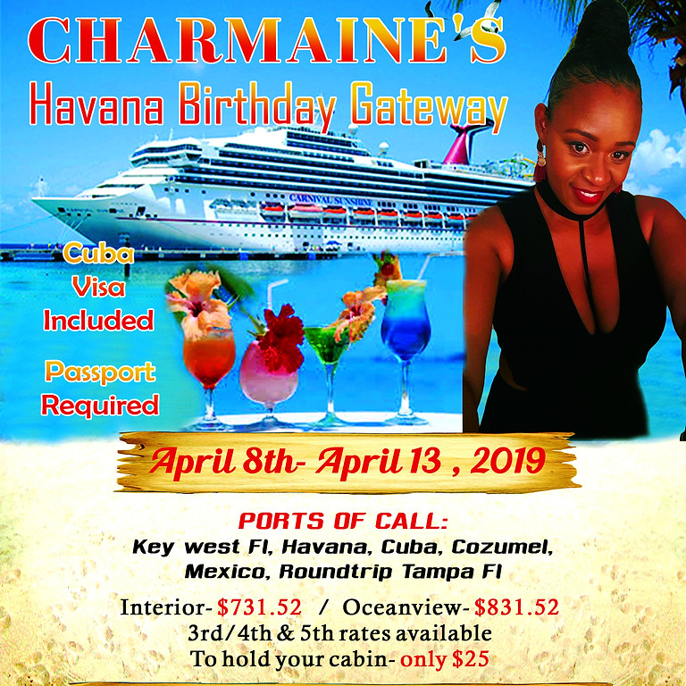 Charmaine's 45th Birthday Havana Getaway
