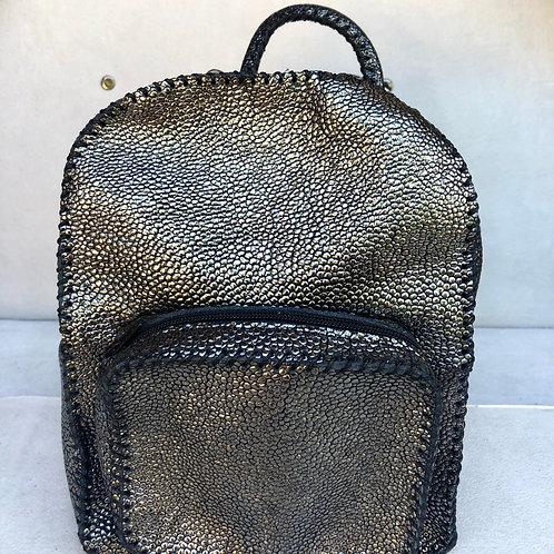 Backpack Small - Glitter Black