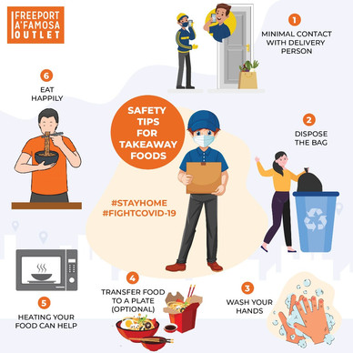 Safety tips for Takeaway Foods