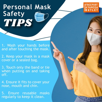 Personal Mask Safety TIPS