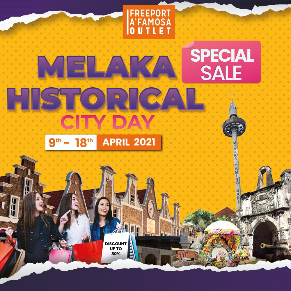 Sales for Melaka Historical City Day