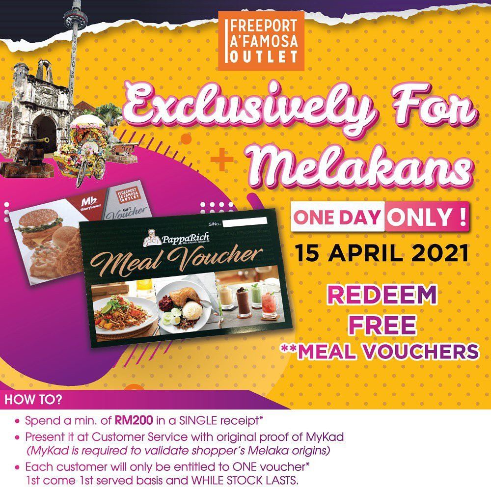 MarryBrown & Paparich - Exclusively for Melakans