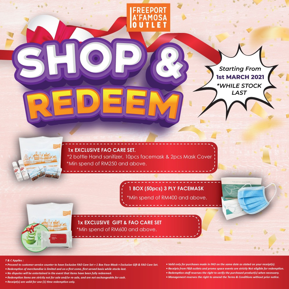 CNY Shop & Redeem