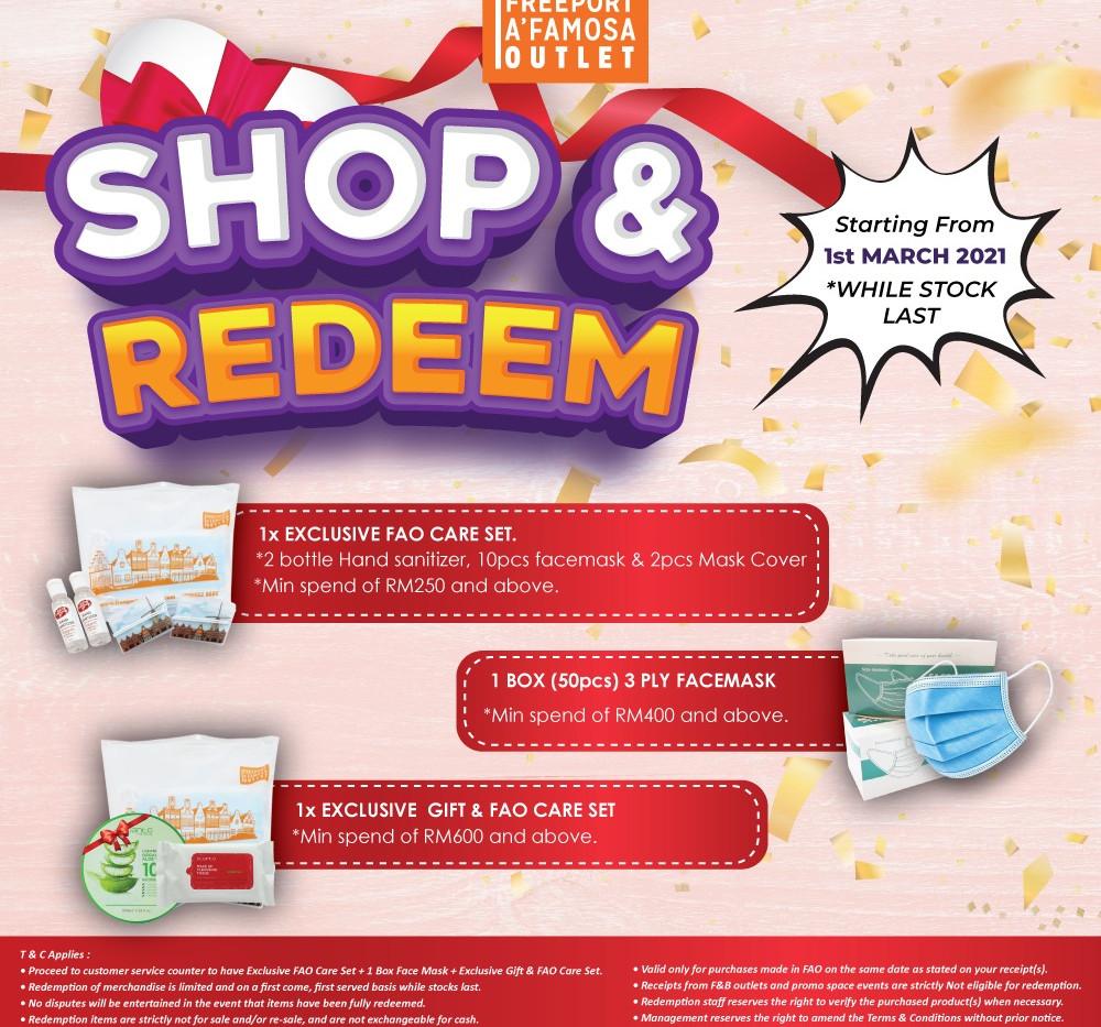 FAO Shop & Redeem