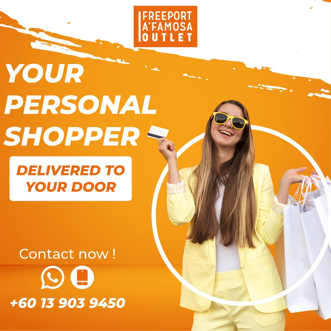 Let's Our Personal Shopper Serves you better!!