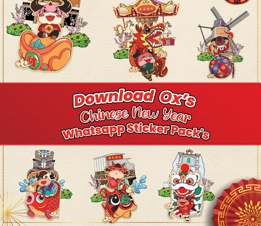 FAO exclusive Ox's Stickers
