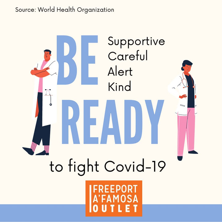 Be READY to fight Covid-19